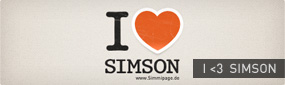 Wallpaper anzeigen: I Love Simson